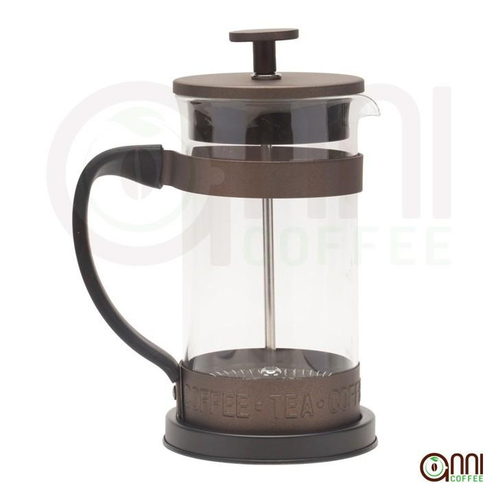 Bình Ép Cà phê French Press Breaktime 350ml Nâu - Dùng để pha cà phê hoặc trà bằng phương pháp French press - Thiết kế hiện đại, sang trọng - Dùng cùng với cà phê Anni Coffee để cho ra ly cà phê tuyệt hảo