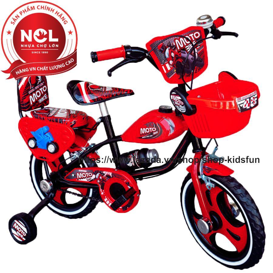 Mua Xe đạp trẻ em Nhựa Chợ Lớn 14 inch K97 - M1722-X2B
