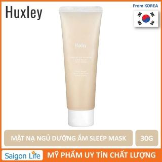 Mặt Nạ Ngủ Dưỡng Ẩm, Phục Hồi Da Huxley Sleep Mask Good Night 30g (Mini Size) thumbnail