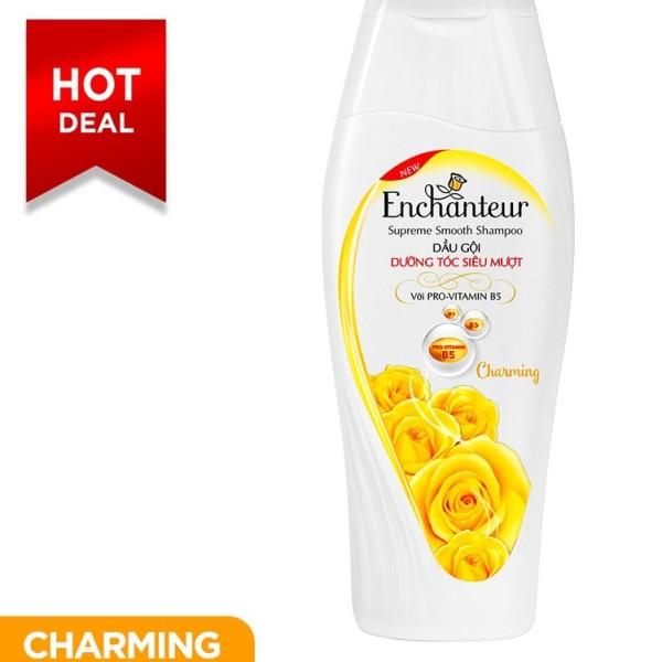 Dầu gội nước hoa Enchanteur Charming nồng nàn duyên dáng dưỡng tóc siêu mượt 180gr giá rẻ