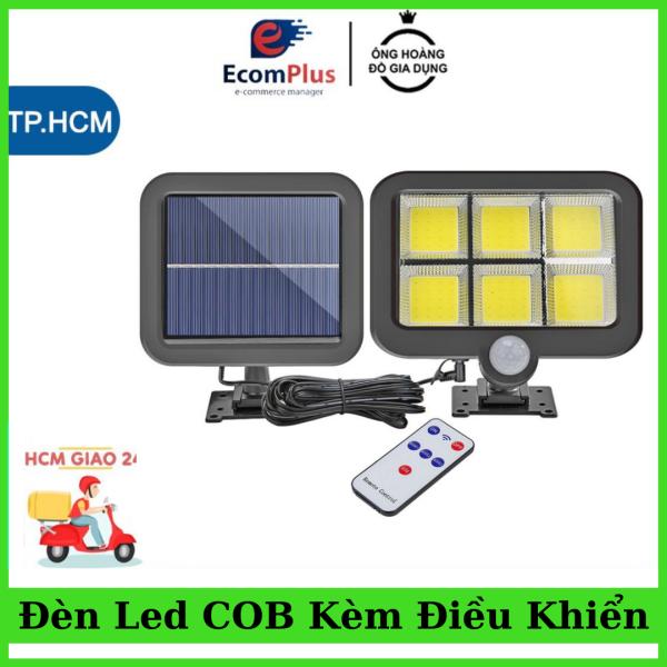 Đèn Led năng lượng mặt trời 6 bóng LED COB công suất cao siêu sáng, có cảm biến chuyển động chống trộm và tiết kiệm điện với các tiêu chuẩn chống nước an tâm sử dụng nhiều năm không bị hỏng, có thể thêm hoặc thay pin