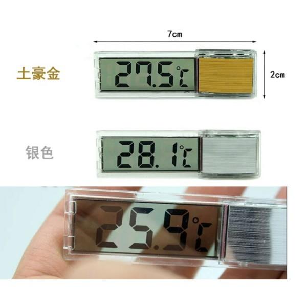 Nhiệt kế điện tử dán bể - dụng cụ đo nhiệt độ dán thành bể cá, thiết kế tinh tế, mang tính thẩm mỹ cao, dễ dàng quan sát và sử dụng