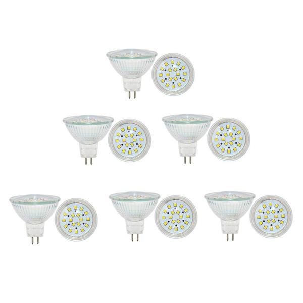 Bộ 6 bóng đèn Led (bóng Led chén) chiếu điểm chân ghim 5W