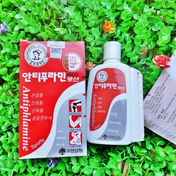 [HCM]Dầu Nóng Xoa Bóp chai 100ml Của Hàn Quốc có lăn – GV390 cao cấp