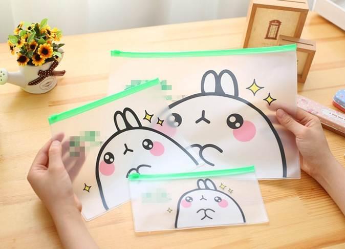 Mua Combo 2 Túi đựng hồ sơ Potato Rabbit ( Khổ A5 và A4)