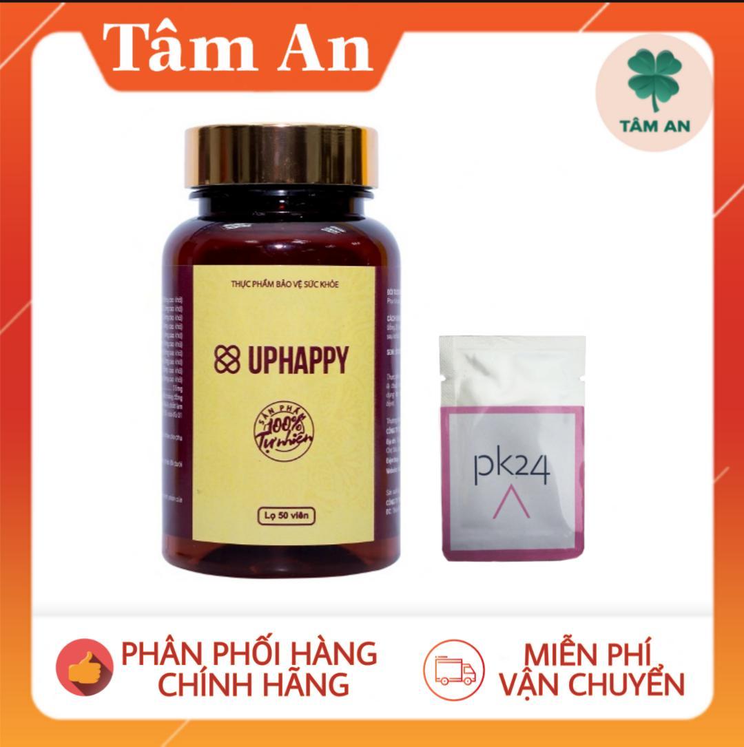 [Combo 2 Uphappy tặng PK24] Viên uống co hồi và tăng cường sinh lý nữ