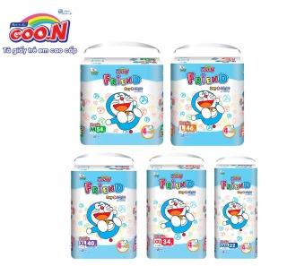 Tã quần Goo.N Friend gói cực đại size M54 L46 XXXL22 (Form tã ôm) thumbnail