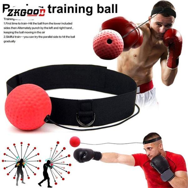 Bóng Tập Phản Xạ Boxing Treo Đầu Loại 2 Bóng - Bóng Phản Xạ Chính Hãng miDoctor
