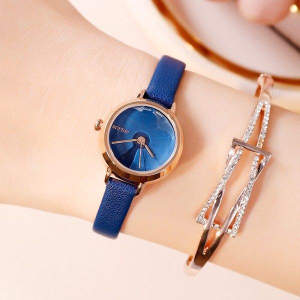 Đồng hồ nữ JA-979 Julius Hàn Quốc dây da (Nhiều màu) bán chạy