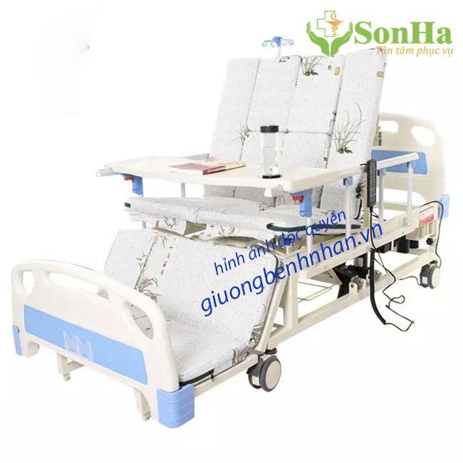 Giường y tế 4 tay quay 10 chức năng DCN06 nhập khẩu