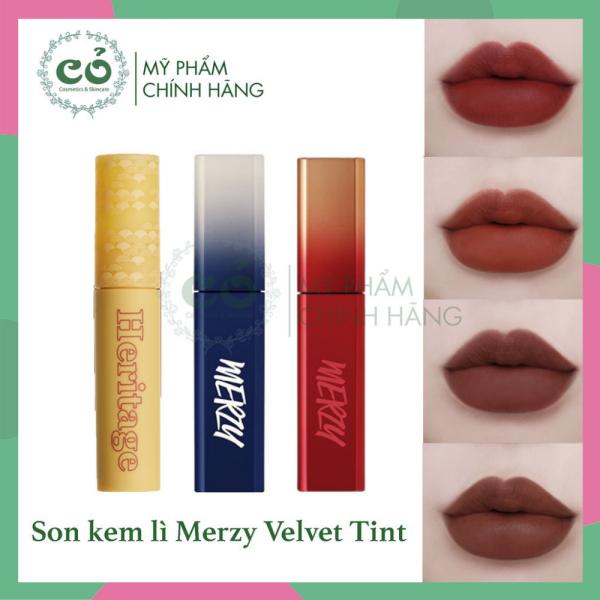 [HCM]Son kem lì Merzy The First Velvet Tint Season 3 cam kết sản phẩm đúng mô tả chất lượng đảm bảo