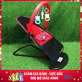 ghế rung nhún có thanh cheo tặng kèm đồ chơi, ghế rung nhún cho bé , ghế nhún cho bé, ghế rung cho bé thumbnail