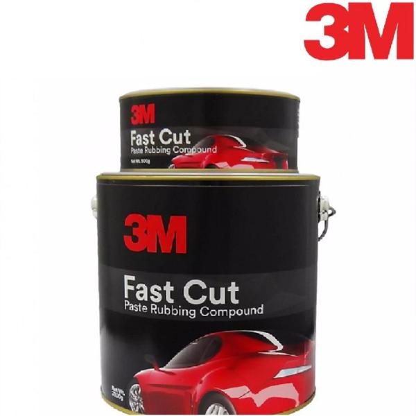 [CHỨC NĂNG] Chất Đánh Bóng 3M Fast Cut Paste Rubbing Compuond 3.3KG tạo độ bóng hoàn hảo trên mọi bề mặt