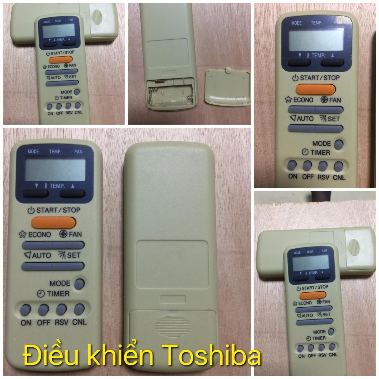 Remote điều hòa TOSHIBA thông minh