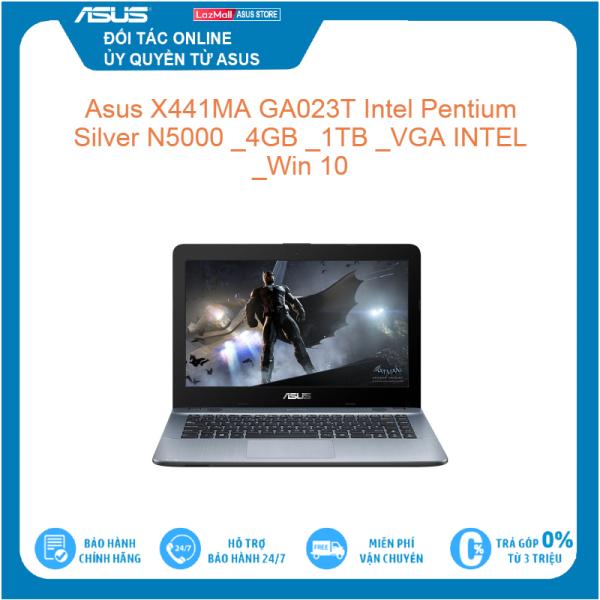Bảng giá Asus X441MA GA023T Intel Pentium Silver N5000 4GB 1TB VGA INTEL Win 10 Hàng mới 100%, bảo hành chính hãng Phong Vũ