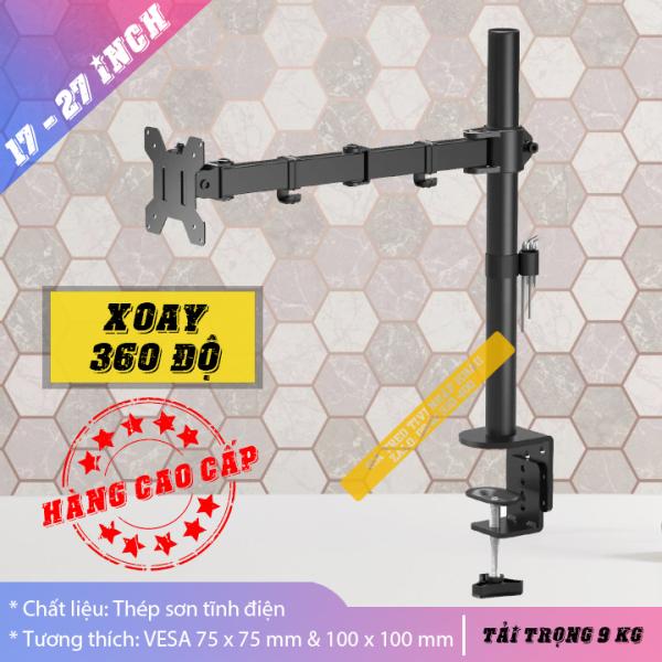 Bảng giá [Hàng Cao Cấp] Giá treo màn hình chân đứng 17 - 27 inch - Tay treo màn hình Xoay 360 độ - Arm Monitor Model: M051 Phong Vũ