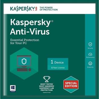 KASPERSKY ANTI - VIRUS CHO 1PC thumbnail