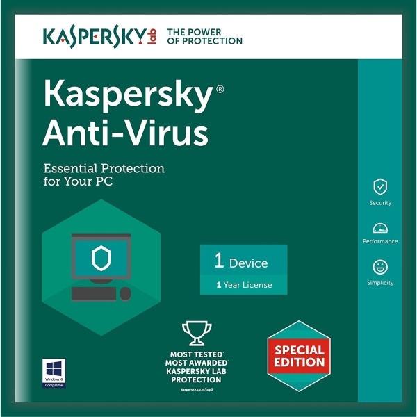 Giá Kaspersky Anti-Virus 1PC