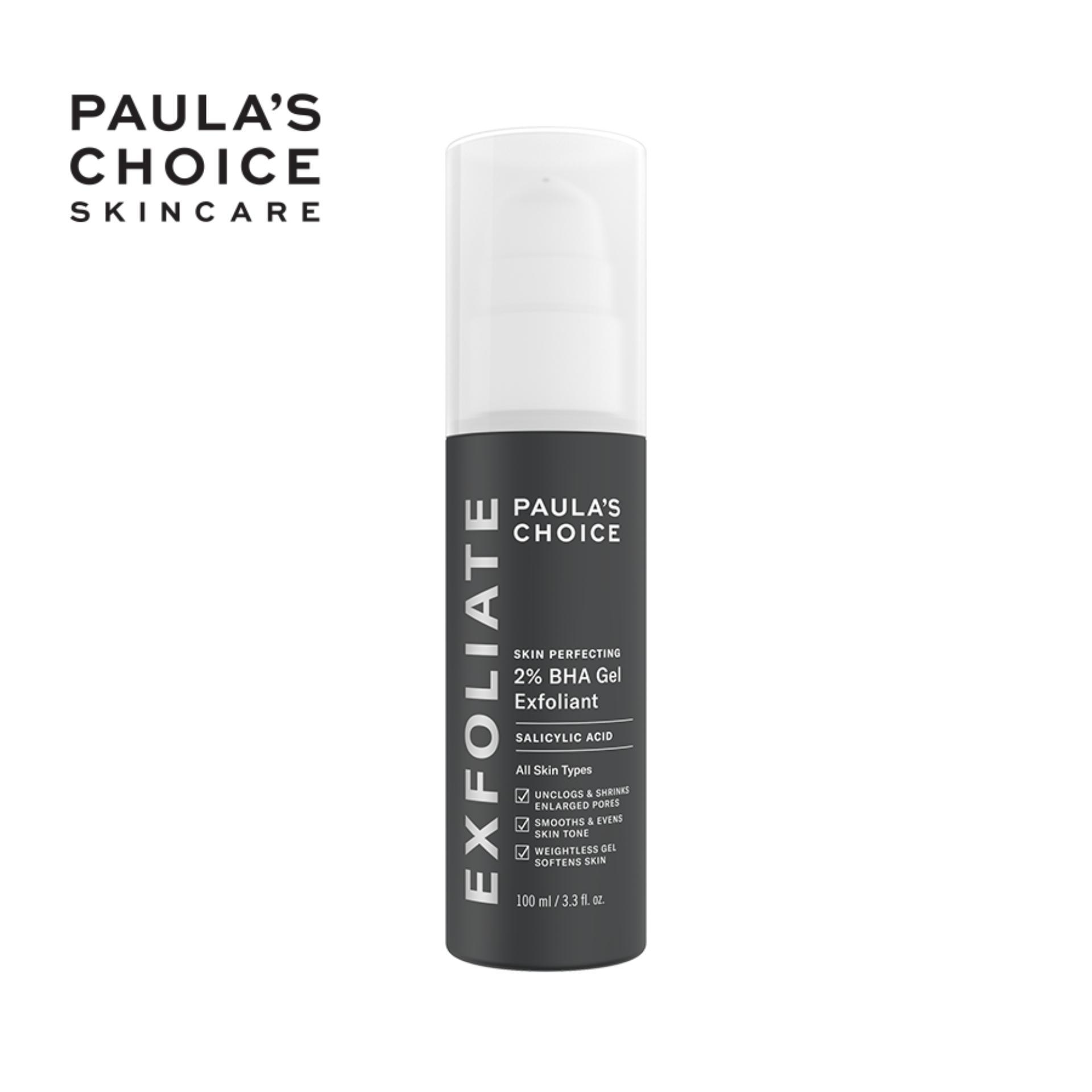 Kem loại bỏ tế bào chết Paula's Choice Skin Perfecting 2% BHA Gel Exfoliant 100ml-2040