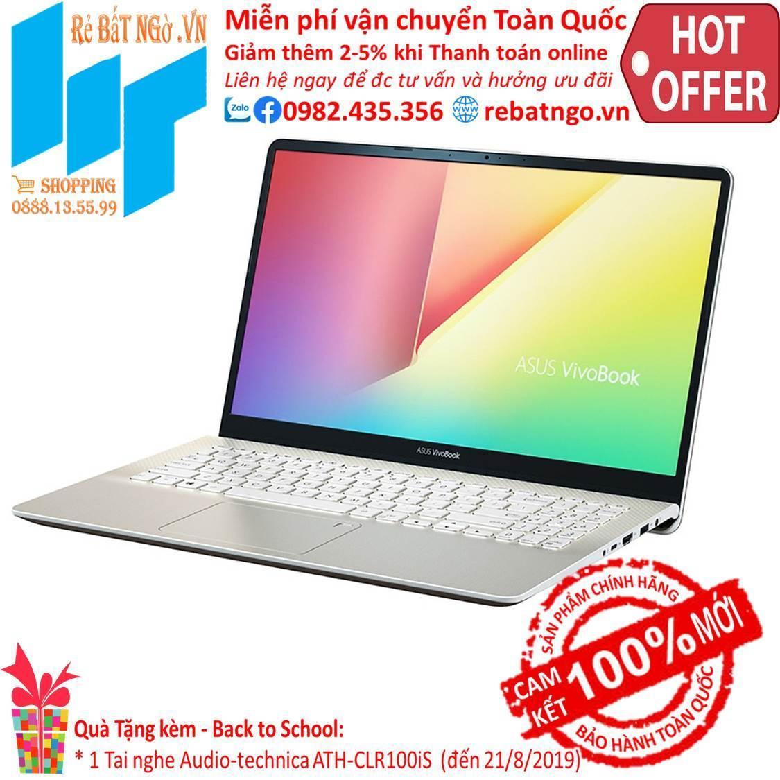 Laptop ASUS VivoBook S15 S530FA-BQ066T 15.6 inch FHD-i5-8265U-4GB-1TB HDD-UHD 620-Win10-1.8...