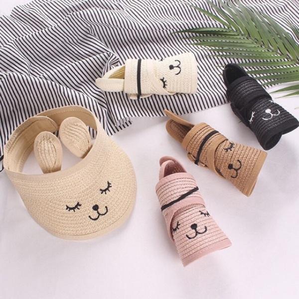 Giá bán (khosigiasoc) Mũ Cói Tai Thỏ Cho Bé Gái