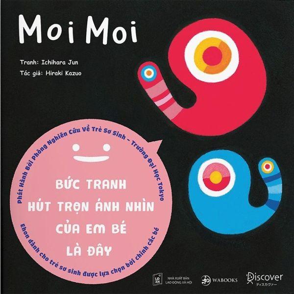 Mua Ehon Moimoi- cuốn sách khiến mọi em bé ngừng khóc