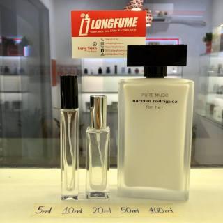 [Có Video] Mẫu thử nước hoa Narciso Rodriguez Pure Musc EDP - Longfume Store Chiết nước hoa 5ml 10ml 20ml thumbnail