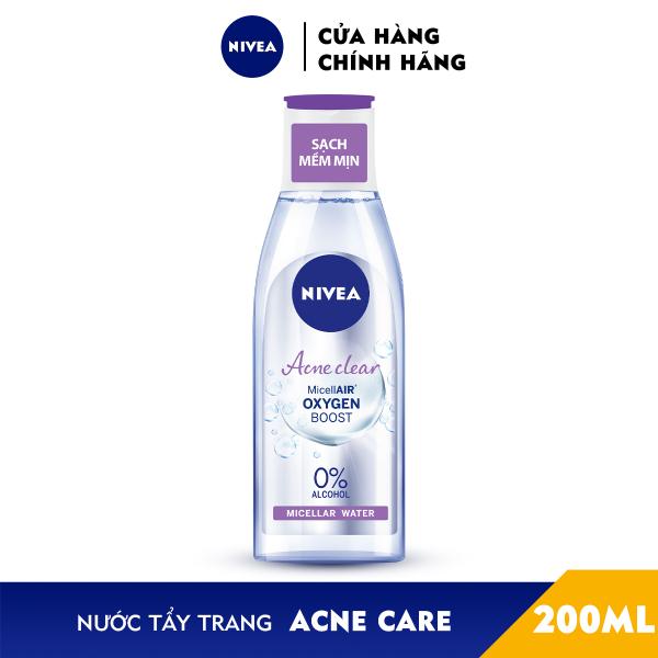 Nước Tẩy Trang NIVEA Acne Care Ngừa Mụn Micellar Water (200ml) - 89271