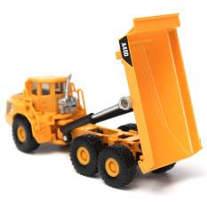 Hình ảnh 1:87 Scale Alloy Diecast Dump Truck Construction Vehicle Cars Lorry Toys Model - Intl