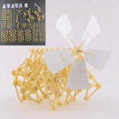 Hình ảnh 1 x bộ Strandbeest Lắp Ráp Xe Tập Đi Đồ Chơi DIY Mô Hình Đồ Chơi Robot-quốc tế