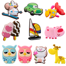 Hình ảnh 10 Pcs Silicone Cartoon Cute Animals Toys Fridge Refrigerator Magnet Set - intl