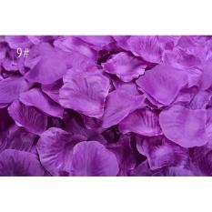 Hình ảnh 100 cái Lụa cánh hoa Hồng Hoa Cánh Hoa To Trang Trí Cho Bàn Đám Cưới, bữa Tiệc Sự Kiện-quốc tế