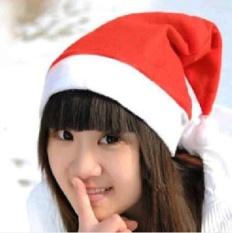 Hình ảnh 10 cái Mũ Lưỡi Trai Giáng Sinh SantaHat Đảng Mũ dành cho Người Lớn-quốc tế