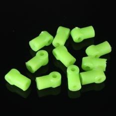 Hình ảnh 10pcs x Plastic Gear Aperture 2mm DIY Model accessories Model Toy Axle brack Green - intl