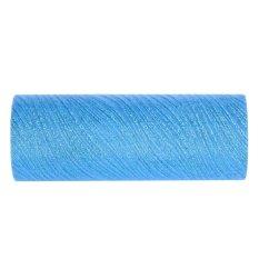 Hình ảnh 15 cm X 10 Thước Lấp Lánh Sóng Voan Cuộn Đảng Cưới Trang Trí Đồ trang trí (Màu Xanh Dương)-quốc tế
