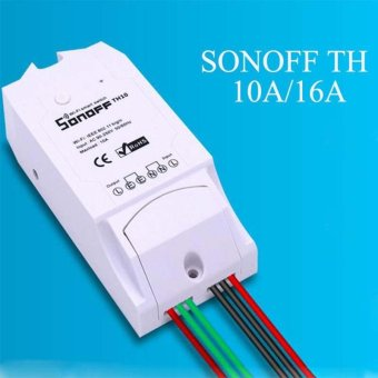 16A Temperature &Humidity Monitoring WiFi Smart Switch Control For Sonoff   intl