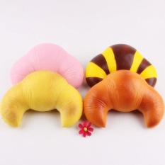Hình ảnh 18cm Random Color Jumbo Reedy Squishy Scented Super Slow Rising Bread Toys - intl