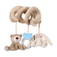 Hình ảnh 1Pc Baby Spiral Crib Bed Stroller Animanl Rabbit Bear Hanging Rattle Toys - intl