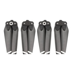 Hình ảnh 2 Pair Quick-release Folding Spare Main Blades Propeller CW CCW Propeller for DJI Spark Drone Accessories Black+White - intl