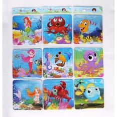 Hình ảnh 20 bảng ghép hình trí tuệ các con vật và thiên nhiên xung quanh