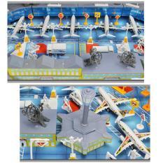 Hình ảnh 200 cái Sân Bay Playset Máy Bay Mô Hình Máy Bay Phụ Kiện Lắp Ráp Kid Đồ Chơi HOA KỲ-quốc tế
