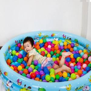 Hình ảnh 200pcs Baby Kid Swim Fun Colorful Soft Plastic Ocean Ball Superior Toy - intl
