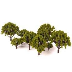 Giá Bán 20Pcs Model Scenery Landscape Trees 3Cm 8Cm Green Intl Nhãn Hiệu Oem