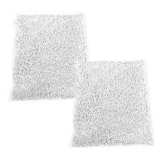 Hình ảnh 2 gói Mini Xốp Bóng Trang Trí Nghệ Thuật Thủ Công Phụ Kiện Trang Trí cho Hộp Quà Tặng Độn TỰ LÀM Đồ Chơi Búp Bê Chúc Bình Gối chất độn 0.01 inch Đường Kính 20 gam Màu Trắng-quốc tế