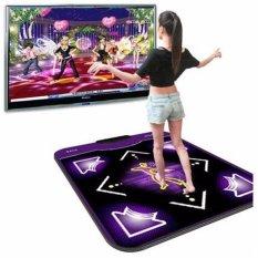 Hình ảnh 2PCS Dance Pads Mats for Super Dancer on Computer Black Purple - intl