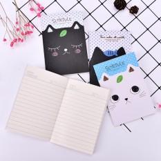 Hình ảnh 2 cái Đồ Văn Phòng Cat thông Học Sinh Nhật Ký Notepad Đồ Dùng Học Tập Quà Tặng-intl