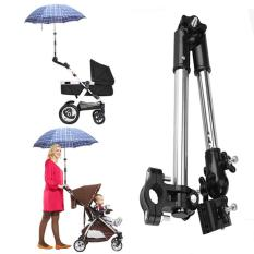 Bán 360 Degree Adjustable Umbrella Stretch Mount Stand Holder Baby Stroller Pram Bicycle Chair Black Intl Oem Trực Tuyến
