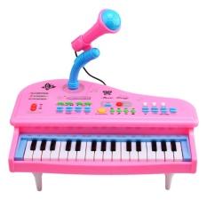 Hình ảnh 360DSC 31 Phím Điện Tử Bàn Phím Đàn Piano Đồ Chơi Âm Nhạc có Mic cho Bé 3168-Màu Hồng-quốc tế