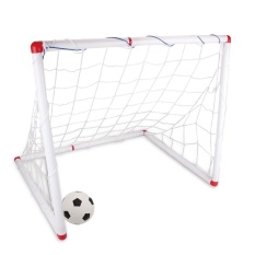 360dsc Large Size 90cm Diy Youth Sports Soccer Goals With Soccer Ball And Pump Practice Scrimmage Game - White - Intl By 360dsc