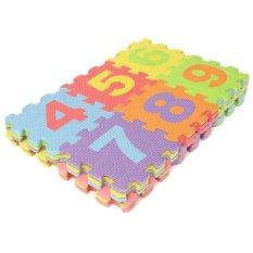 Hình ảnh Bộ bảng chữ cái trẻ em 36 chiếc chất liệu xốp mềm, kích thước 14.2x14.2cm - Intl